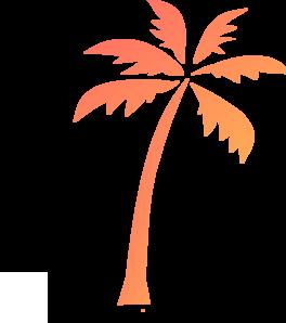 264x298 Palm Tree Dark 2 Clip Art