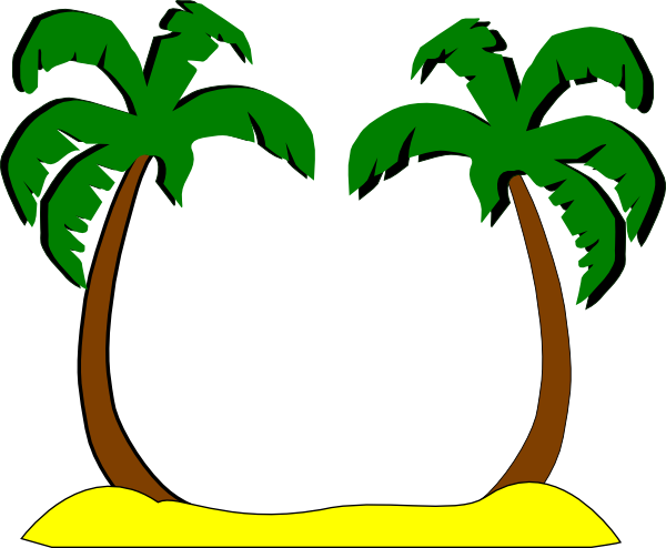 600x494 Palm Tree Leaves Clipart Thewealthbuilding