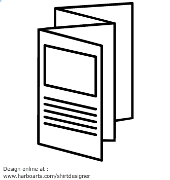 335x355 Pamphlet Clipart