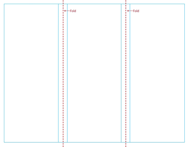 600x467 Blank Brochure Templates