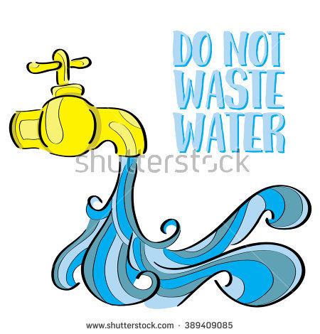 450x470 Bathroom Clipart Wastage Water