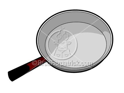432x324 Cartoon Frying Pan Illustration Royalty Free Frying Pan Stock