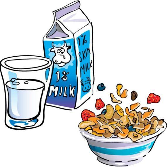 570x569 Eat Breakfast Clipart Free