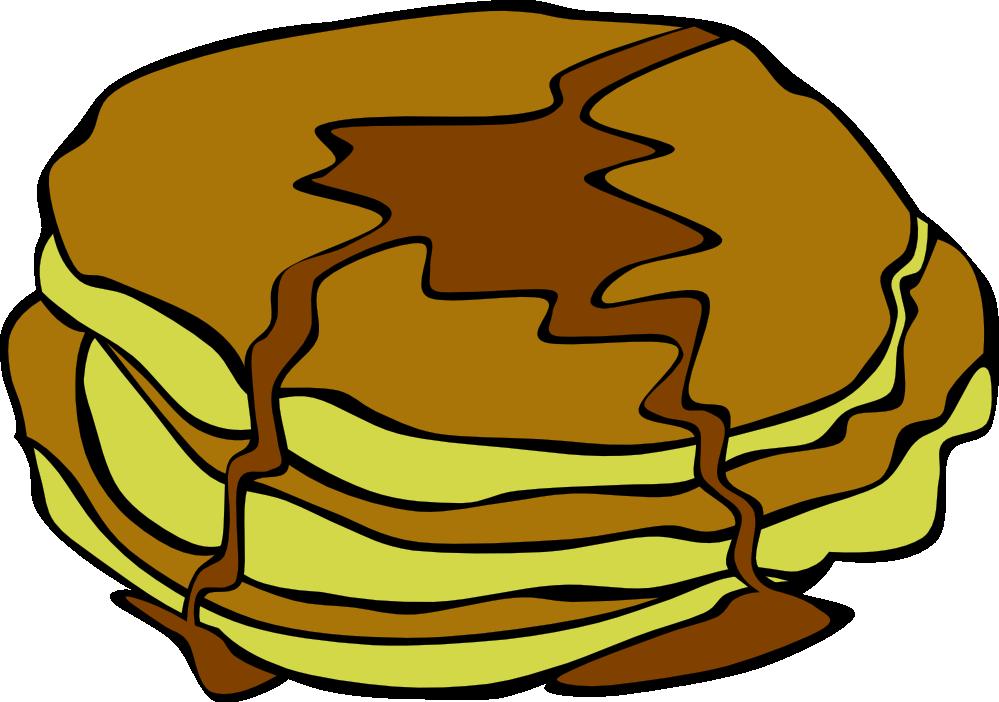 999x702 Free Pancakes For Breakfast Clip Art