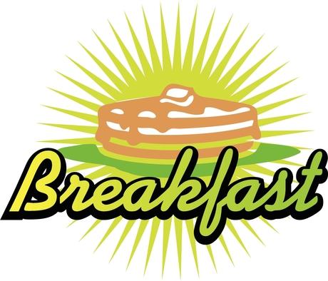 460x394 Pancake Breakfast Clipart Image