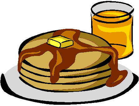 447x343 Pancake Clipart Crepe