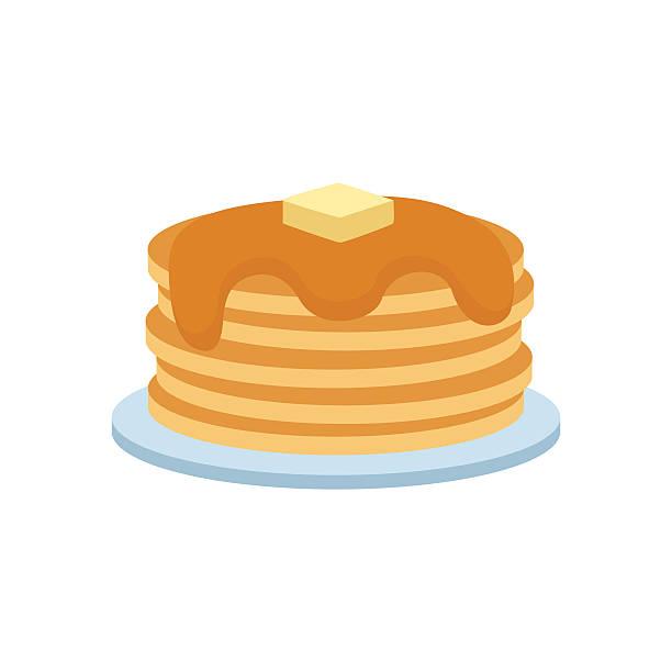 612x612 Pancake Clipart Vector
