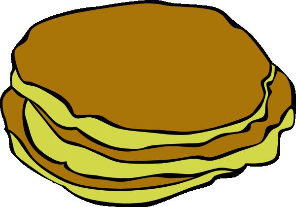 600x420 Pancakes Clip Art