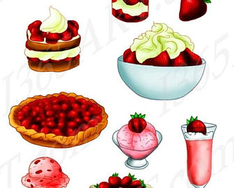 340x270 Breakfast Clipart Food Clipart Dessert Clipart Food Clip Art