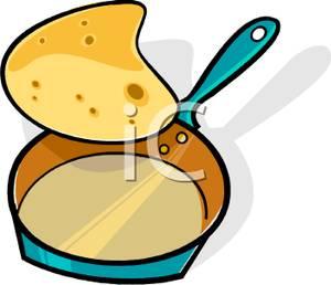 300x258 Pancake Flipping In A Frying Pan