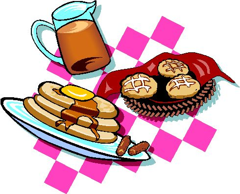 490x397 Pancake Clipart Breakfast Buffet
