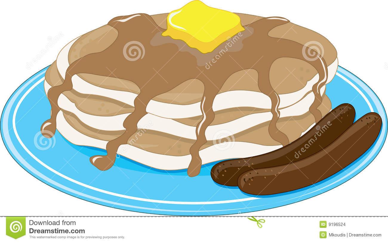 1300x815 Pancake Clipart Pancake Sausage
