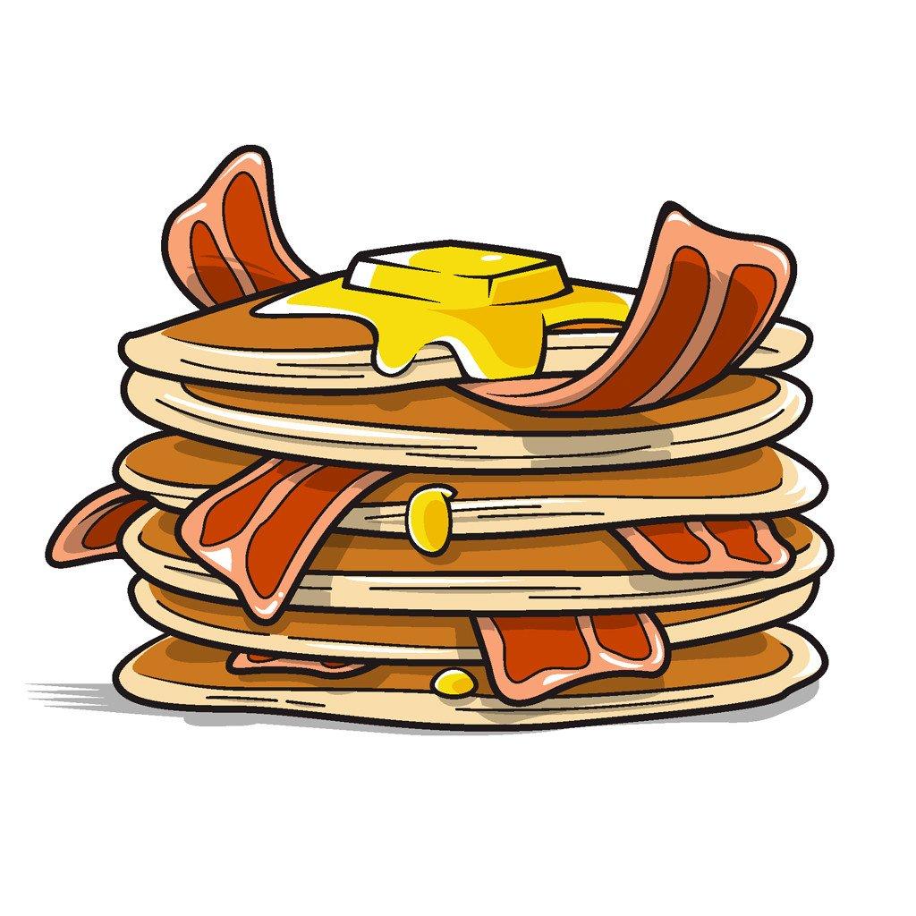 1024x1024 Bacon Clipart Pancake Bacon