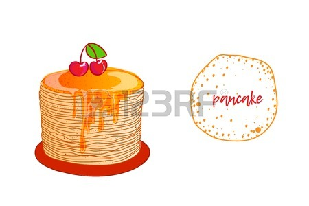 450x300 182 Thin Pancakes Stock Illustrations, Cliparts And Royalty Free