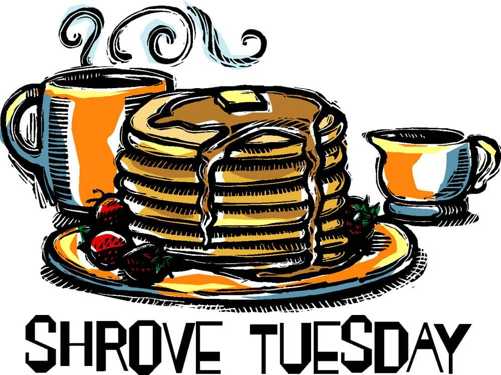 1000x749 Shrove Tuesday Tossing Pancakes Clipart