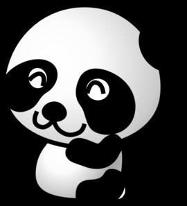 270x297 Cute Panda Bear Clipart Free Clipart Images