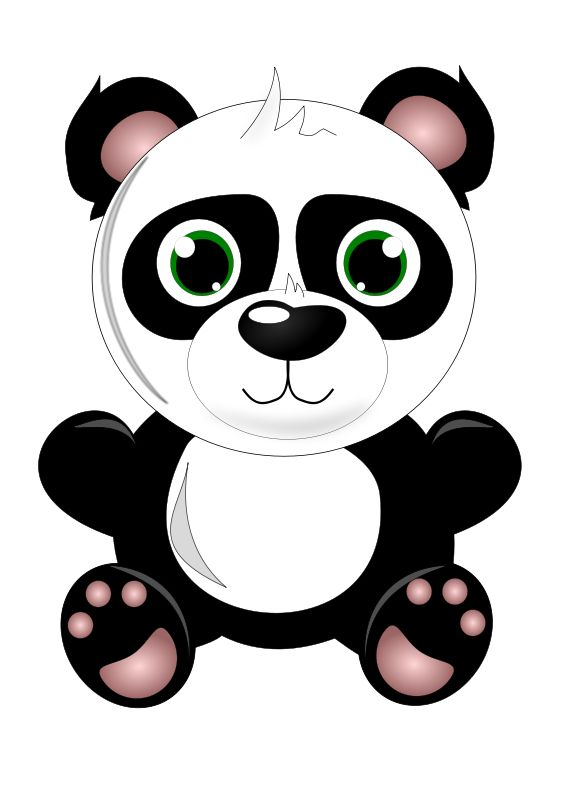 566x800 161 Best Pandas Images Beautiful, Clip Art And Crafts