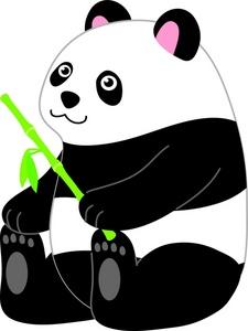 225x300 Panda Bear Clipart Image Clipart Panda