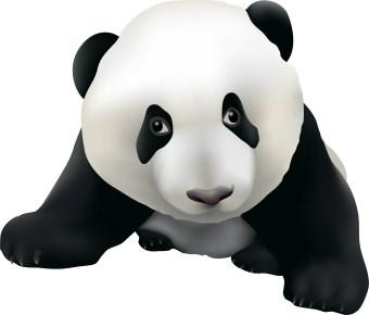 340x290 Panda Bear Clip Art Clipart Panda