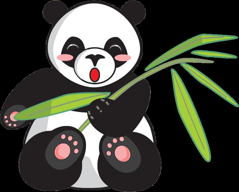 770x617 Top 87 Giant Panda Clipart