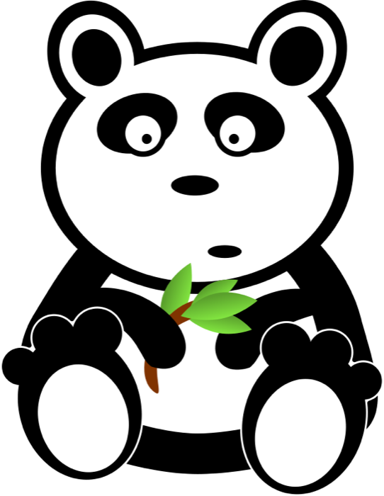 542x700 Cute Panda Bear Clipart Amp Animations