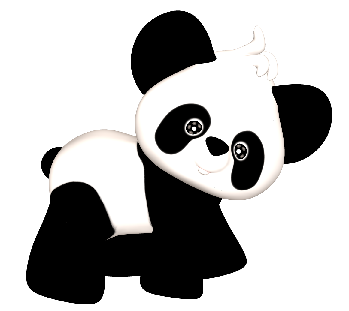 1162x1037 Panda Clipart Transparent