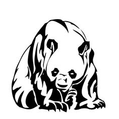 236x236 Sleeping Panda Coloring Page. More Asian Animals Coloring Pages