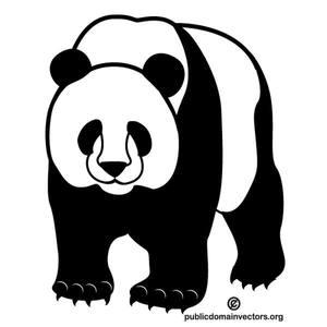 Panda Bear Vector