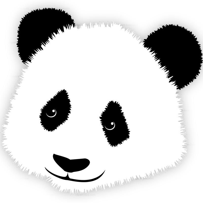 800x800 panda and child free clip art CLIPART PANDA#39S HEAD Royalty