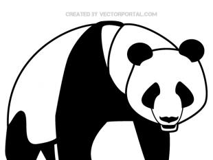 310x233 Panda Bear Free Vectors Ui Download
