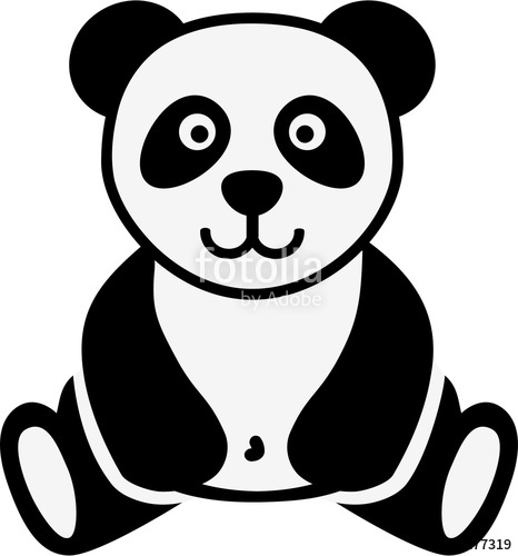 466x500 Cartoon Panda Stock image and royalty free vector files on
