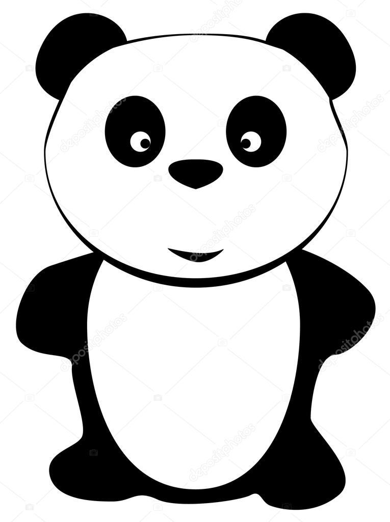 765x1023 Cartoon Cute Panda Bear Stock Vector Oxanka