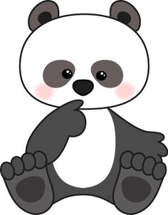 236x302 Cute Cartoon Panda Bamboo, Plants, Green, Panda, Animal, Cute