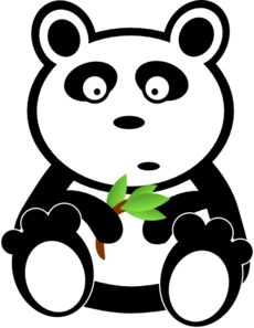 230x297 Cute Cartoon Panda Cute Panda Cartoon More Clip Art