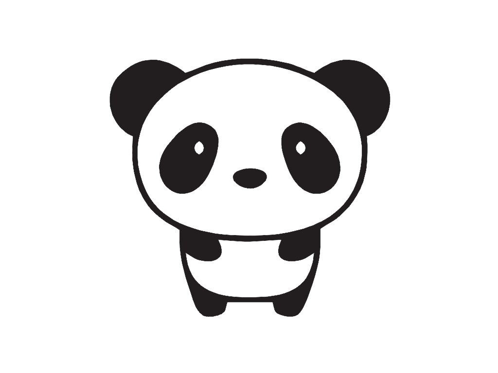 1024x768 Cute Panda Wallpapers Buscar Con Google Kawaii Clip Art