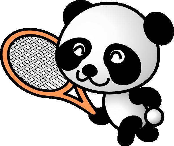 600x505 Panda Clipart