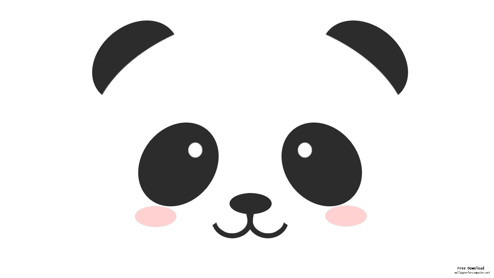 1920x1080 Best Cute Panda Clipart