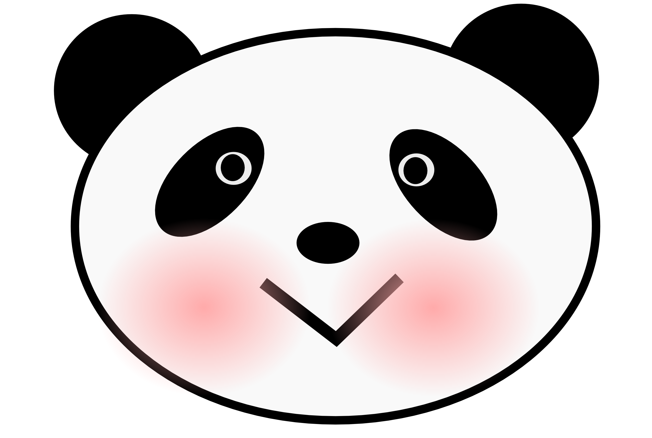 2555x1717 Panda Love You Teddy Bear Clipart Free Clipart Images