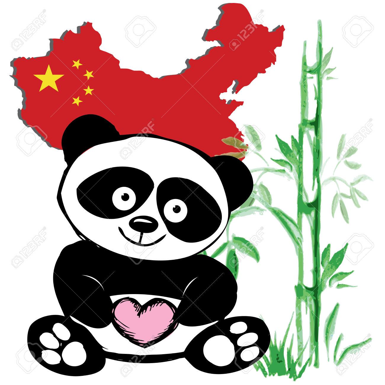 1300x1300 Asian Clipart Cute Panda