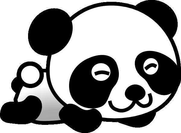 600x441 Panda Clip Art