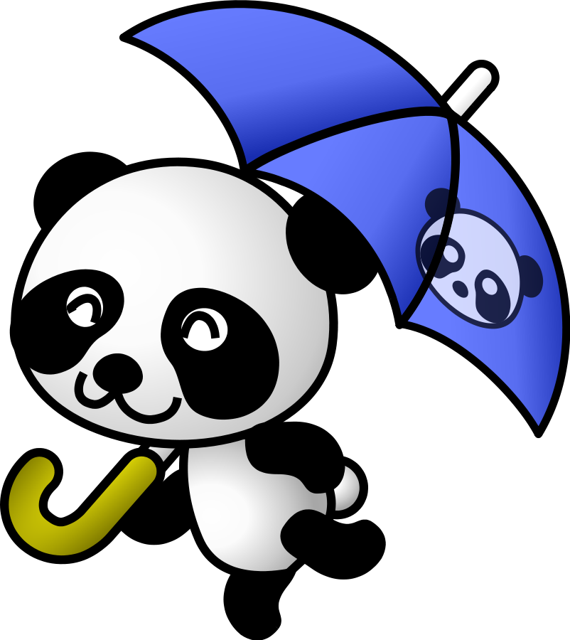 802x900 Panda clip art clipart –
