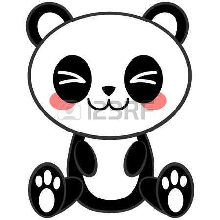 450x450 Panda clipart kawaii