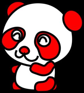 270x297 Red Panda Clip Art