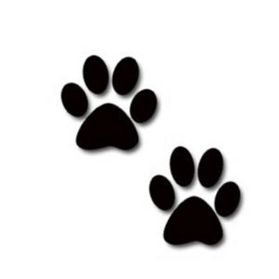 400x400 dog paw print clip art free download clipart panda free40 PNG paw