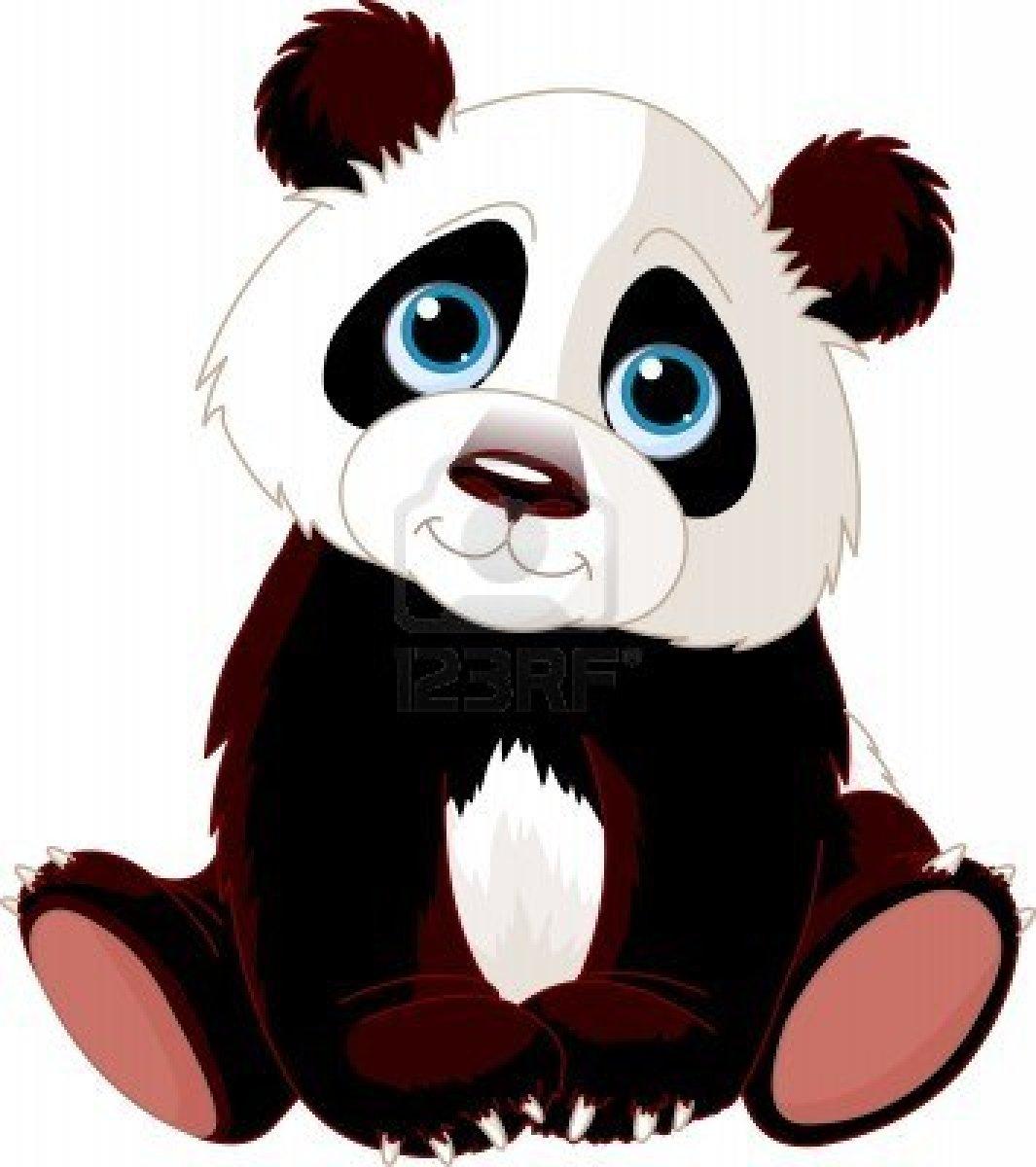 1065x1200 Free Panda Clipart Image