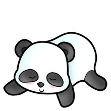 220x220 Giant panda clipart free clipart images clipartwiz