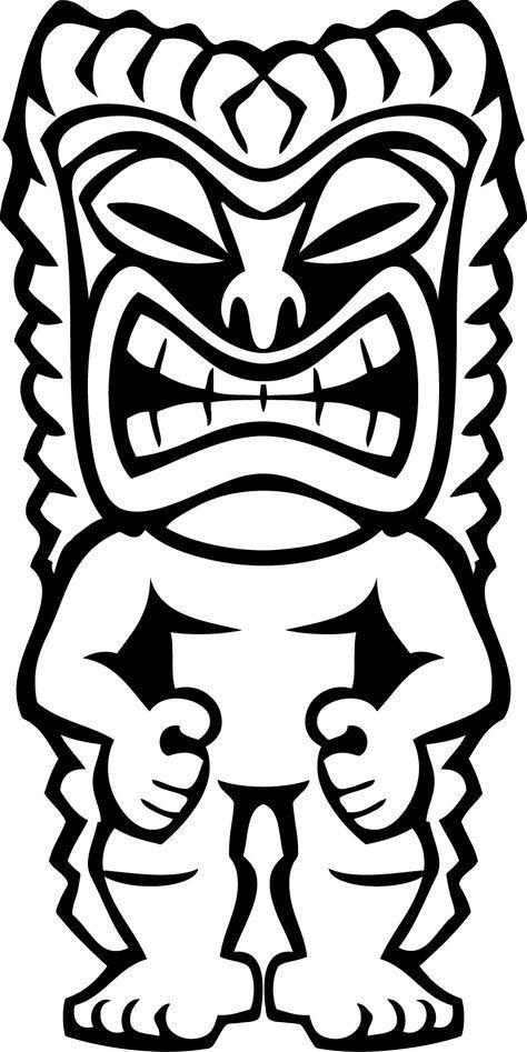 474x947 Hawaiian Tiki Clip Art Clipart Panda Free Clipart Images Luau