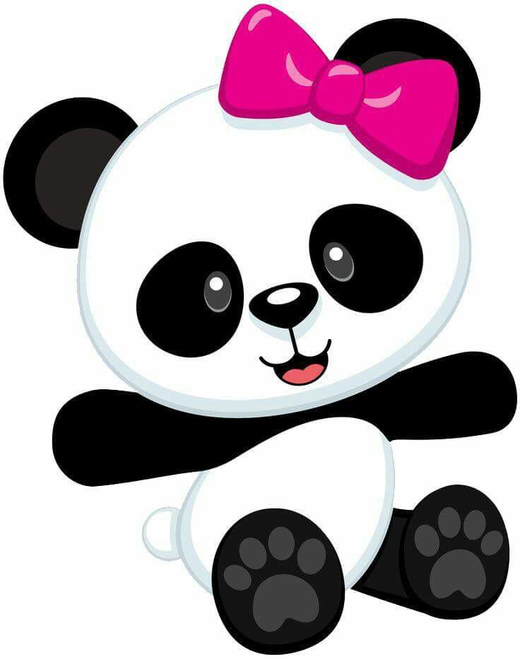 736x933 Panda Bear Clip Art