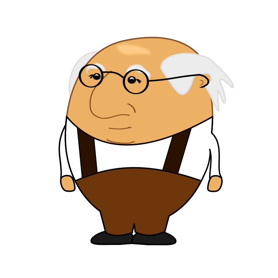 900x900 Old People Clip Art