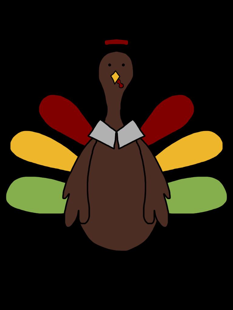 768x1024 Turkey Clipart